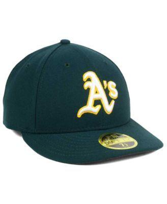 the latest e424d 7f334 New Era Oakland Athletics Low Profile Ac Performance 59FIFTY Cap - Green 7  1 4