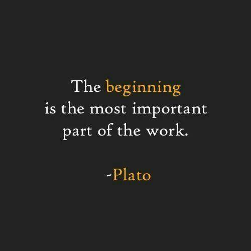 In The Beginning Plato Quotes Beginning Quotes Wisdom Quotes
