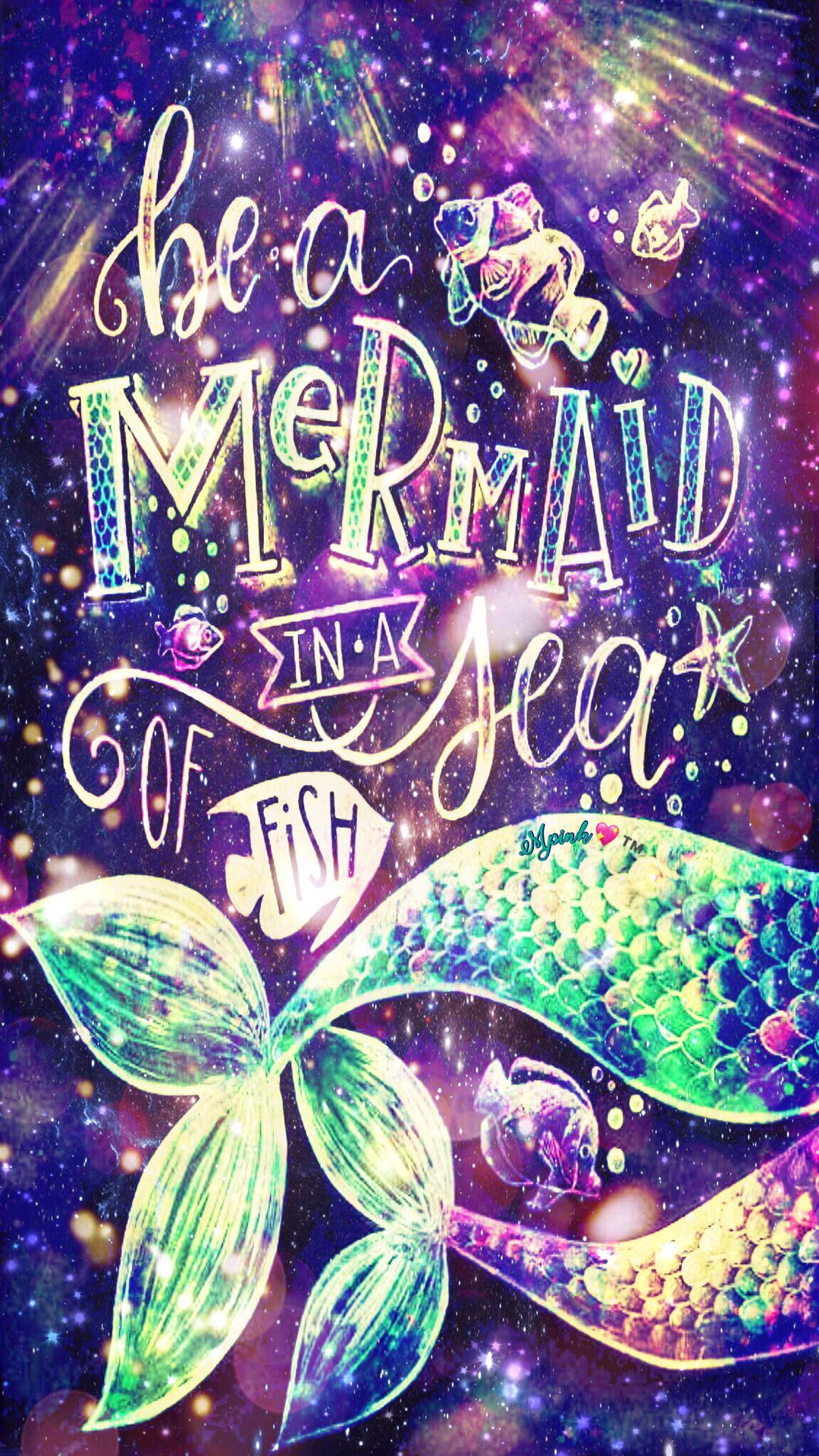 Be A Mermaid Galaxy Wallpaper Androidwallpaper Iphonewallpaper Wallpaper Galaxy Sparkle Glitter Lockscreen Mermaid Wallpapers Mermaid Art Mermaid Quotes
