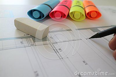 Architect Pencil Drawing Plan Project Pencil Drawings Drawing Images Drawings