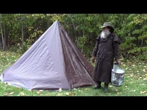 Turn Your Tarp Tent Into A Hot Stove Installation You