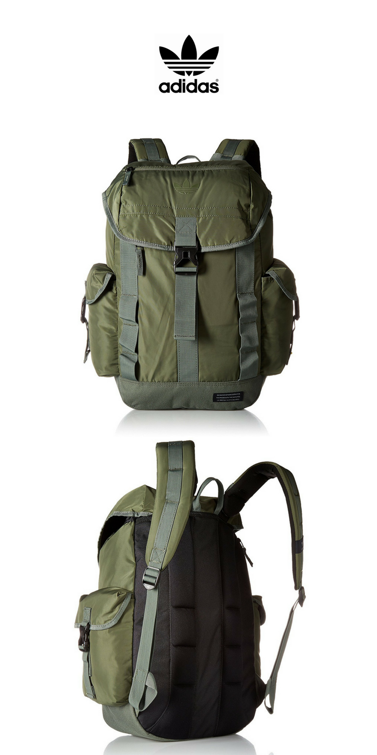 buying cheap official images famous brand Adidas Urban Utility Backpack | Green | Click for More Adidas ...