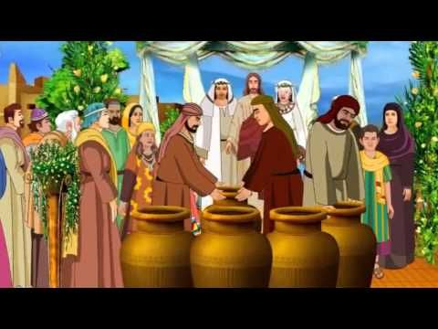 Love In Any Language The Wedding At Cana Reach More Now Bible Cartoon Stories For Kids Cartoons Story