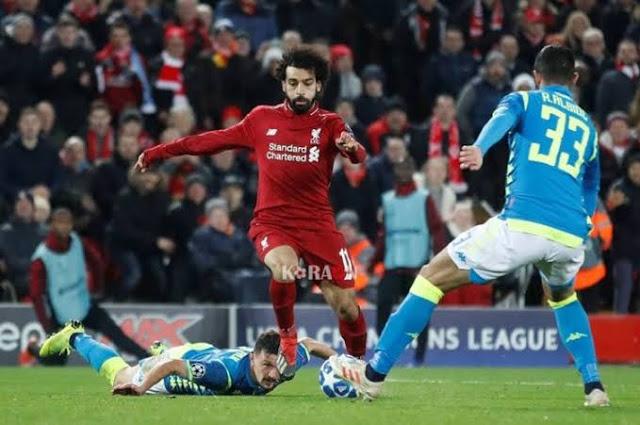 نتيجة مباراة ليفربول اليوم وملخص مباراة ليفربول ونابولي اليوم في دوري أبطال أوروبا Liverpool Napoli League
