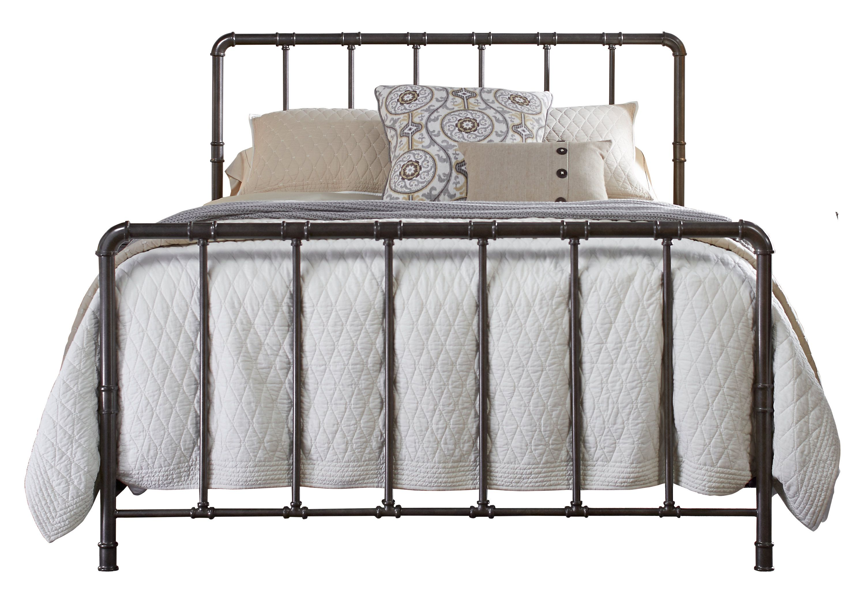 picture of kady charcoal queen bed from beds furniture sunrise