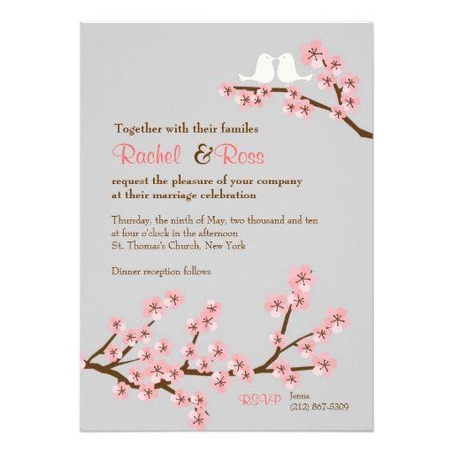 Cherry Blossom Garden Wedding Invitation Zazzle Com In 2021 Garden Wedding Invitations Cherry Blossom Wedding Invitations Wedding Invitations