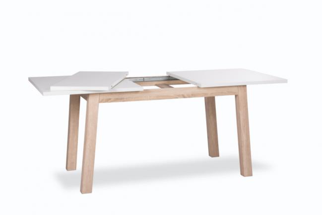 Ausziehbarer Design Esstisch Stockholm Weiss 140 180cm Riess Ambiente Onlineshop Tisch Weiss Esstisch Tisch
