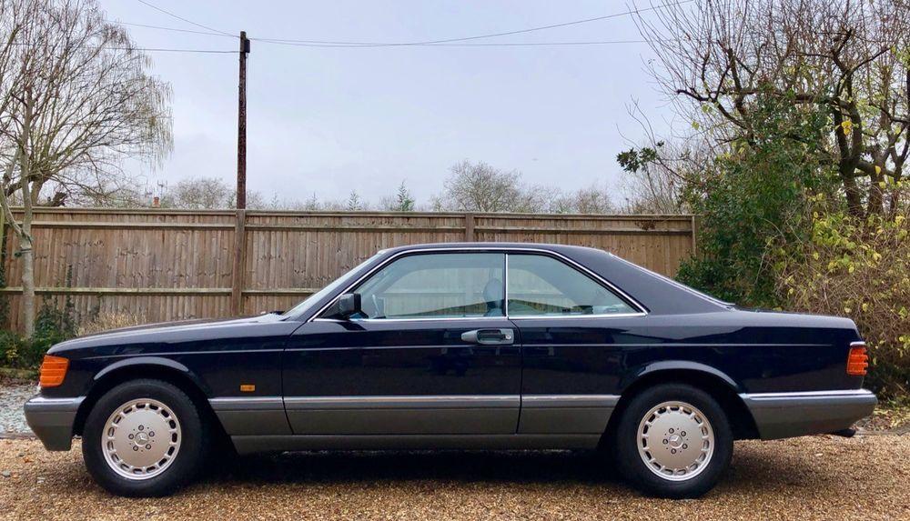 1987 D Mercedes 500sec Sold More Req D 560sec 420 Sec C126