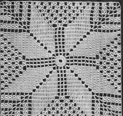 3a0a68e3d Vida Pink - Meus Crochês: Maio 2011   CUBRECAMAS   Crochet, Crochet ...