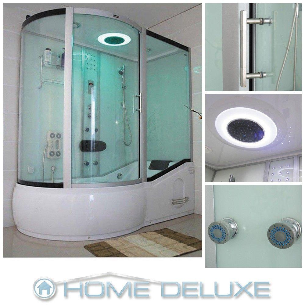 Dusche Duschtempel Duschkabine Duschabtrennung Badewanne