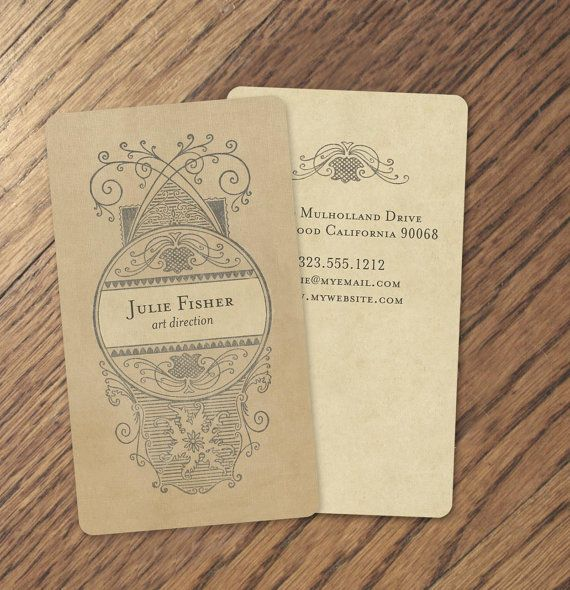 Business cards calling cards vintage calling cards custom i love this paper and the rounded edges 250 vintage calling cards vintage business reheart Images