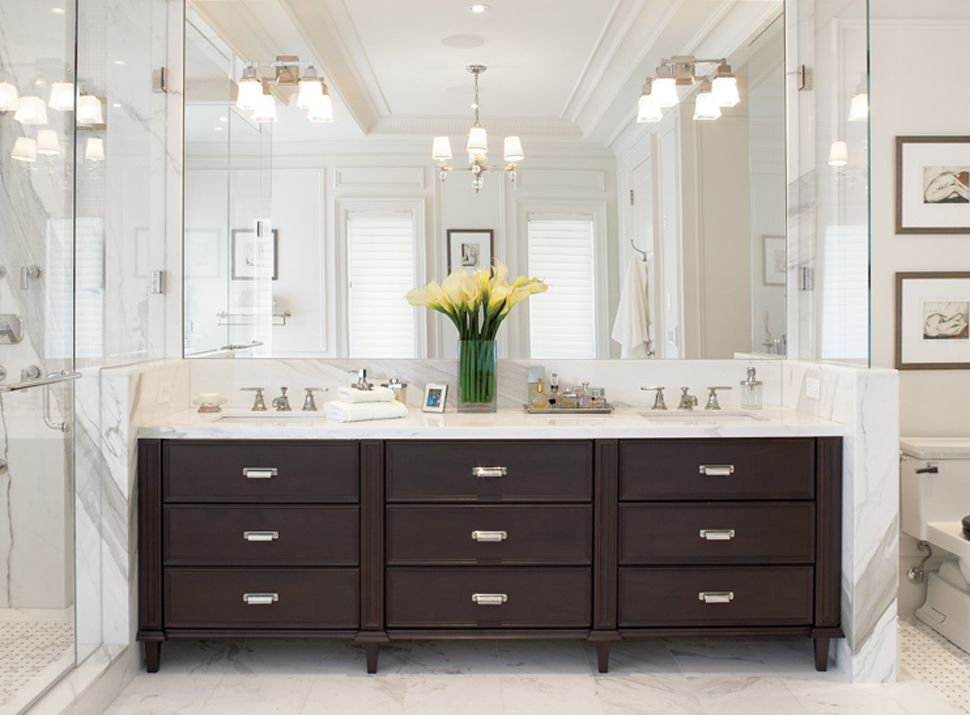 21 Outstanding Transitional Bathroom Designs