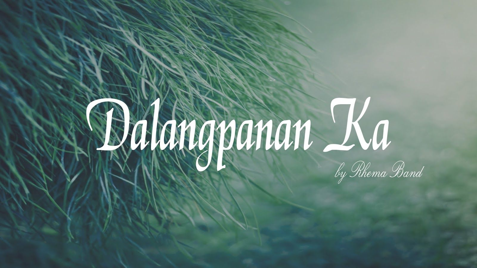 Dalangpanan ka by rhema band guitar chords and guitars dalangpanan ka by rhema band hexwebz Choice Image