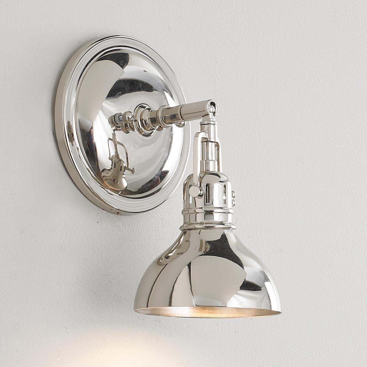 Pullman Sconce 1 Light Bathroom Light Fixtures Bath Light