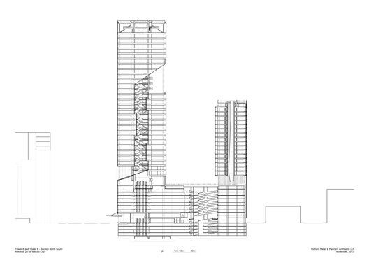 Gallery of richard meier unveils 180 meter tower development in architecture sciox Images