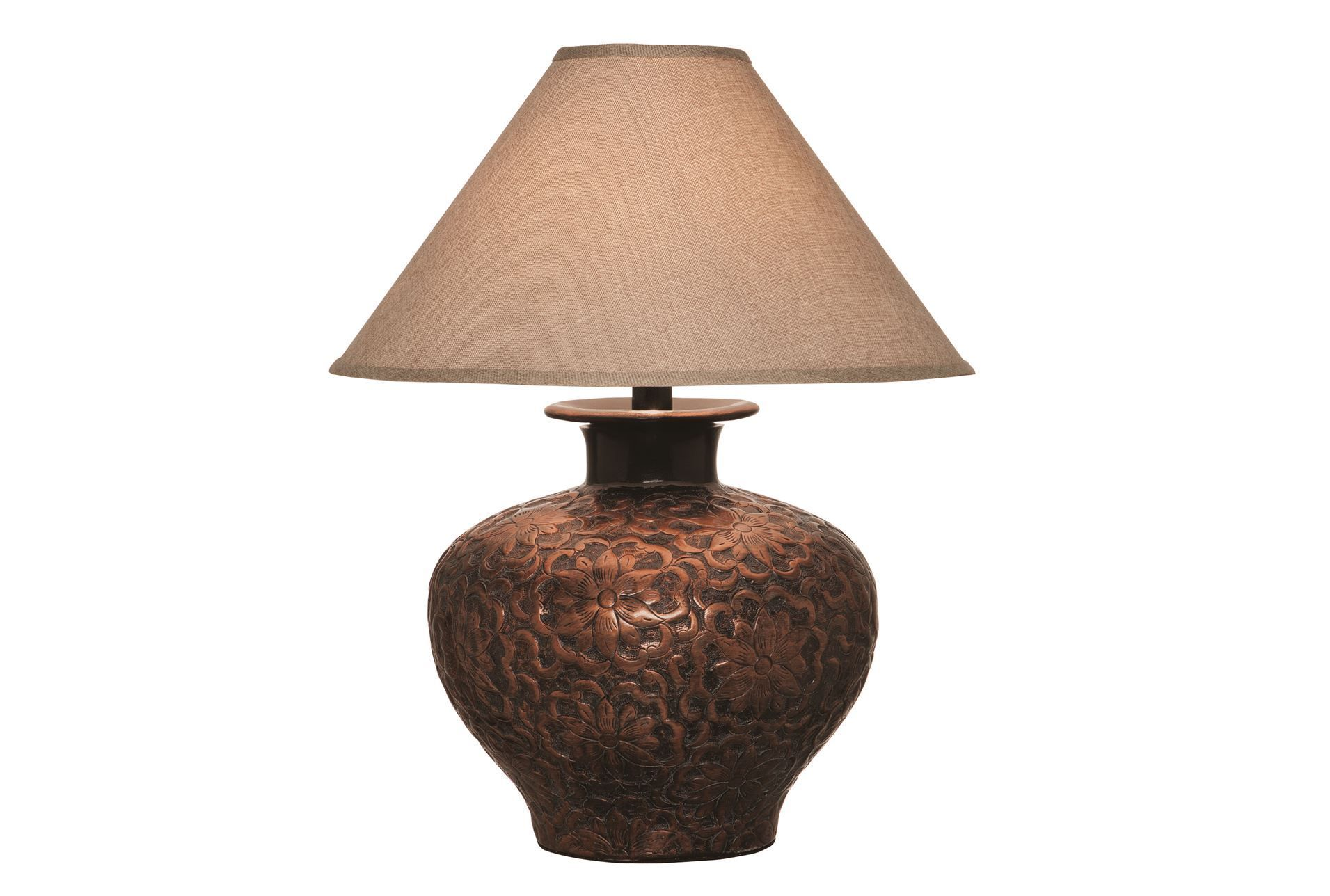 Table Lamp Hammered Copper Living Spaces Silver Table Lamps Traditional Table Lamps Copper Table Lamp