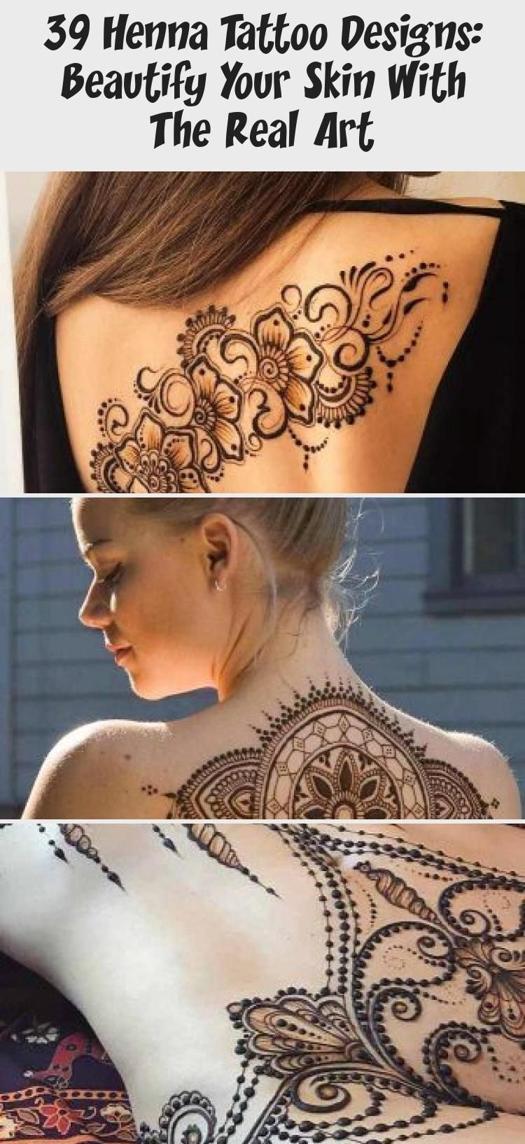39 henna tattoo designs beautify your skin with the real