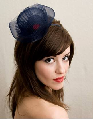 Pin By Thessa B On Accessories Navy Hair Accessories Pretty Hairstyles Cool Hairstyles