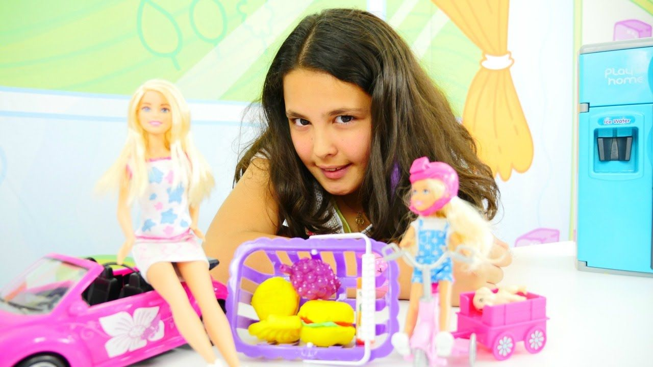 Play Doh Oyun Hamuru Ile Sandvic Yapimi Barbie Oyunlari Play Doh Oyun Hamuru Barbie
