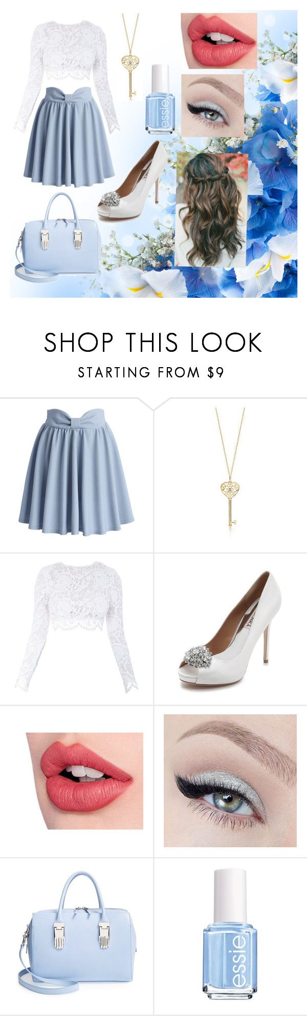 """""""Untitled #22"""" by amymcwray ❤ liked on Polyvore featuring Chicwish, Stone_Cold_Fox, Badgley Mischka, Charlotte Tilbury, Opening Ceremony and Essie"""