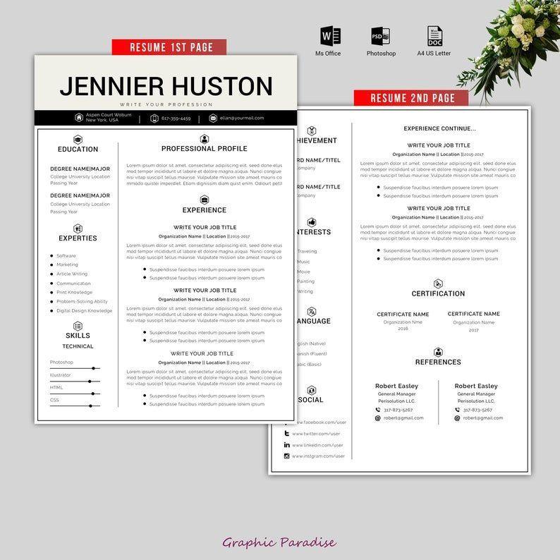 Fashion nova in 2020 resume template word resume