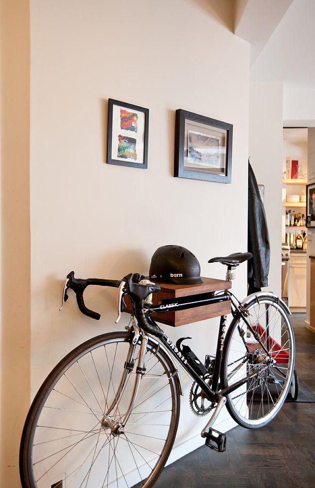 Osez L Orange Dans La Deco Appartement Local A Velos Porte Velo Mural Decoration Appartement