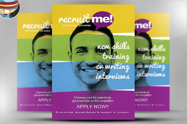 Creative Recruitment Flyer Template Retention Recruitment