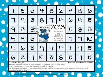photo about Kindergarten Math Games Printable identified as Fresh new Many years 2019 Freebie: Contemporary Many years Functions 2019: Fresh Calendar year