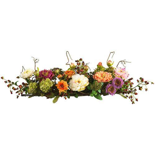 Mixed silk flower arrangements centerpieces walmart wreaths mixed silk flower arrangements centerpieces walmart mightylinksfo