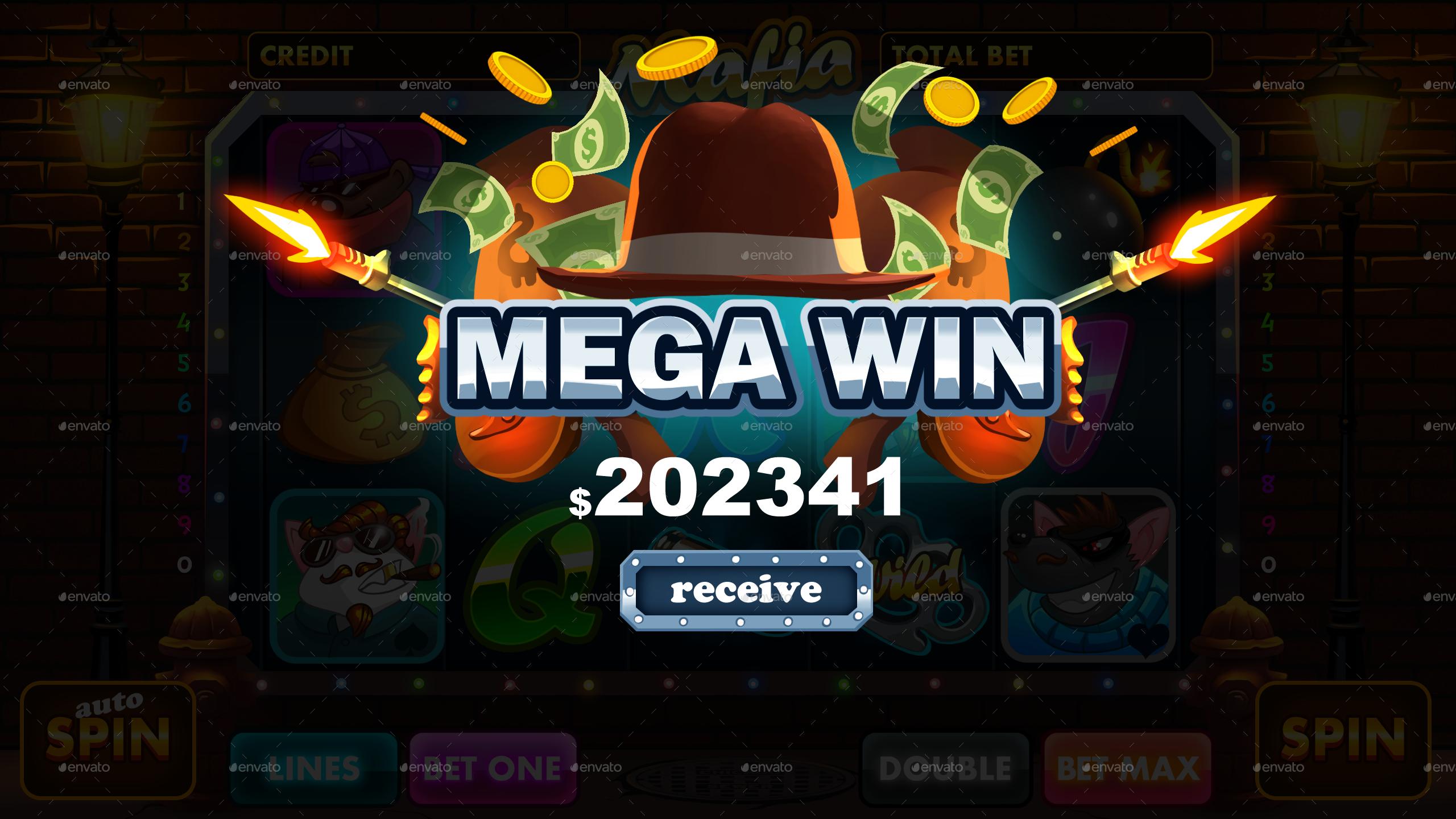 Mafia slot game kit   Slots games, Game assets, Mafia
