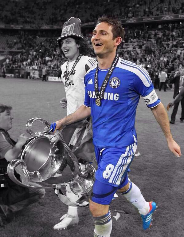 Frank Lampard After Captaining Chelsea To Winning The Biggest Trophy In Club Football
