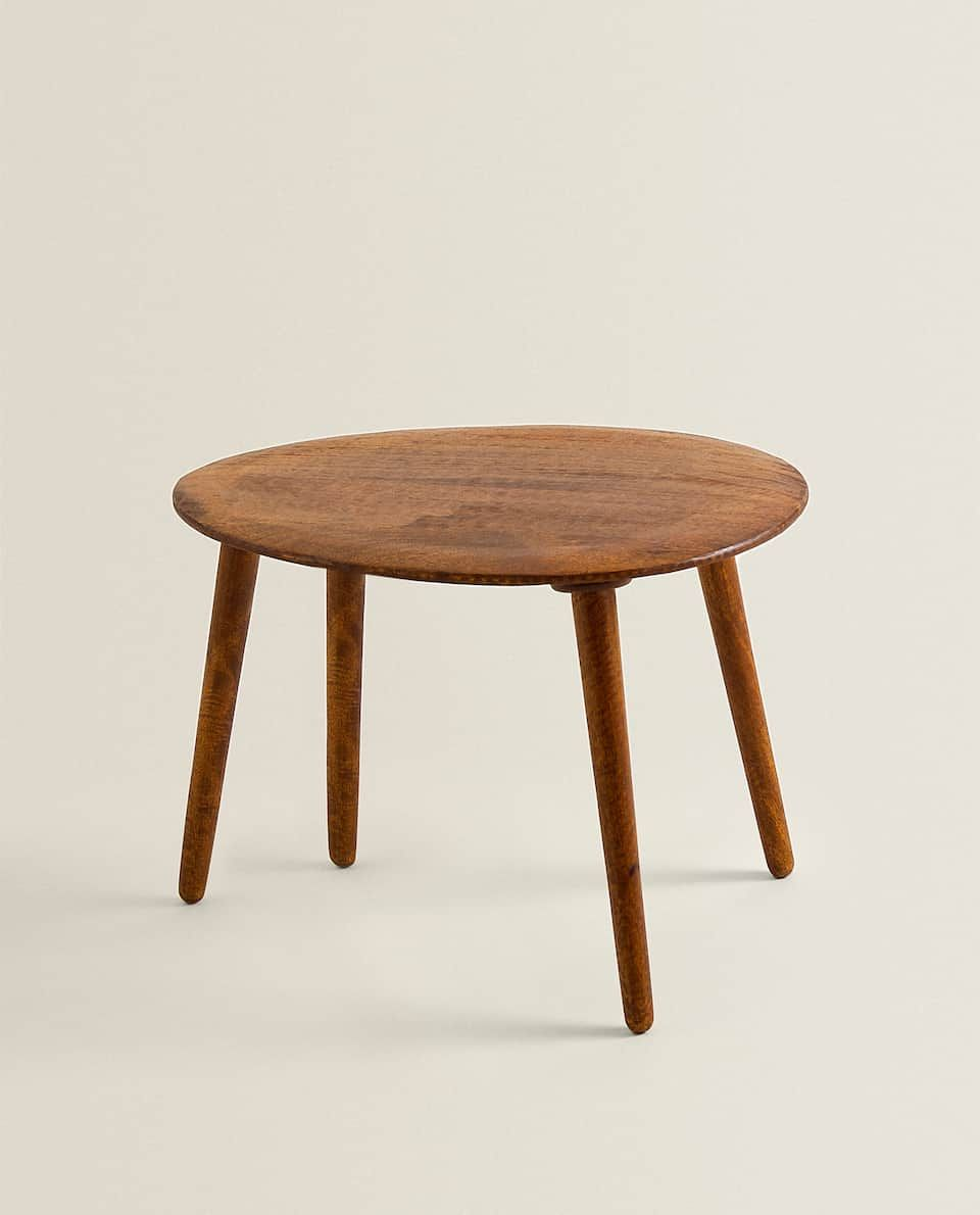 Wooden Table Furniture Living Room Zara Home United Kingdom In 2020 Table Furniture Wooden Tables Zara Home [ 1190 x 960 Pixel ]