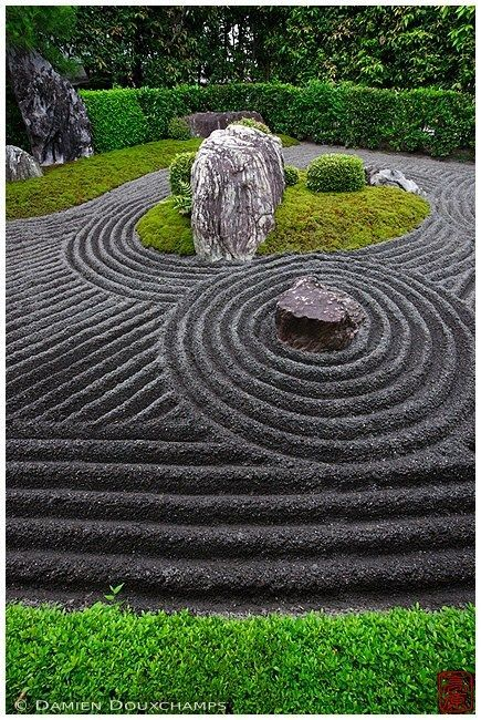 Mineral Zen Garden Design In Control | Zen Garden Designs & Ideas #smallgardenideas