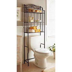 New A Over The Toilet Oil Rubbed Bronze Space Saver Bathroom