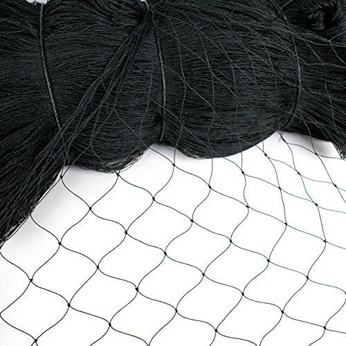 """25/' x 25/' Heavy Knotted 1/"""" Aviary Poultry Net Netting"""