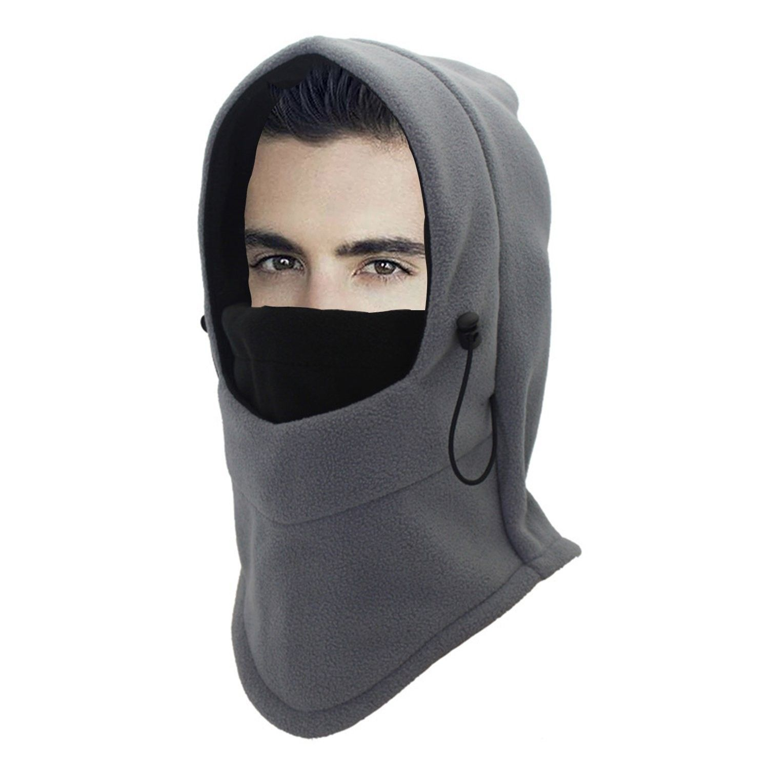 8ef0c37a6936 Heavyweight Balaclava Ski Face Mask Fleece Hood Men Women Kids ...
