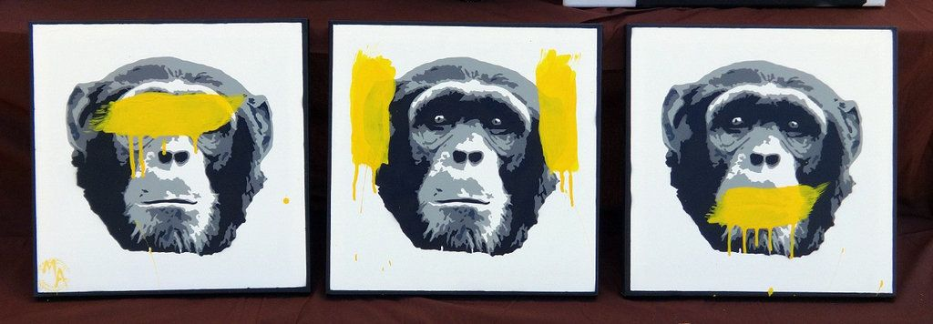 3 Wise Monkeys Wise Monkeys Monkey Art Monkey Illustration