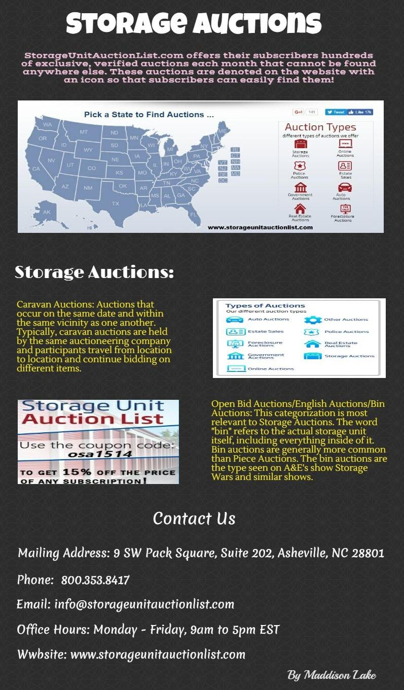 Storage Auctions is a national