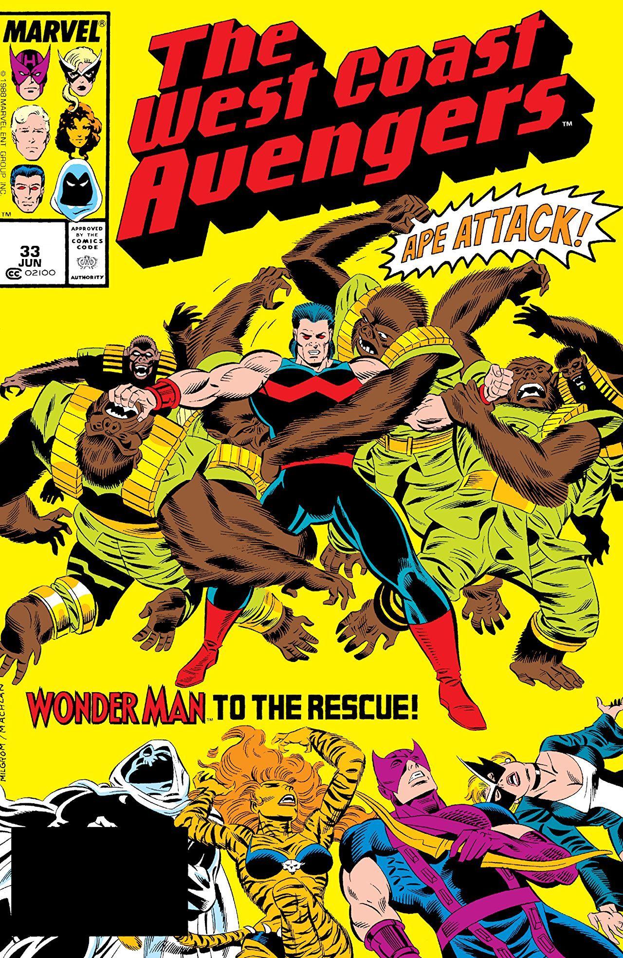 Avengers West Coast (1985) #33 #Marvel @Marvel @Marvelofficial #Avengerswestcoast