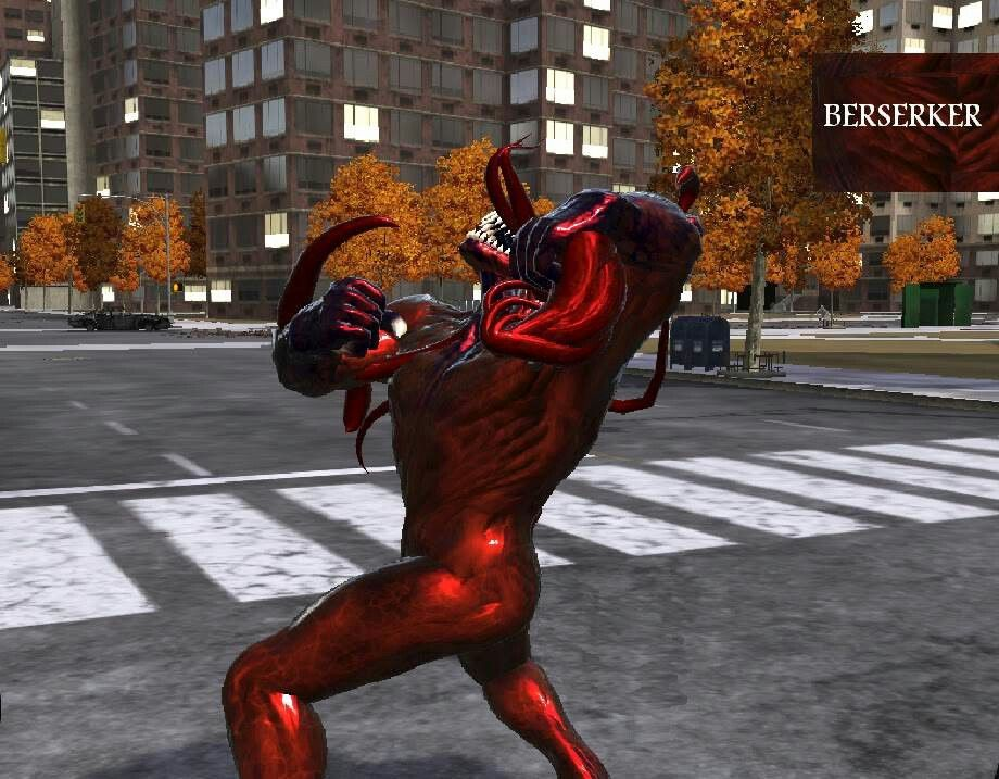 A symbiote berserker from smwos | Spiderman web of shadows ...