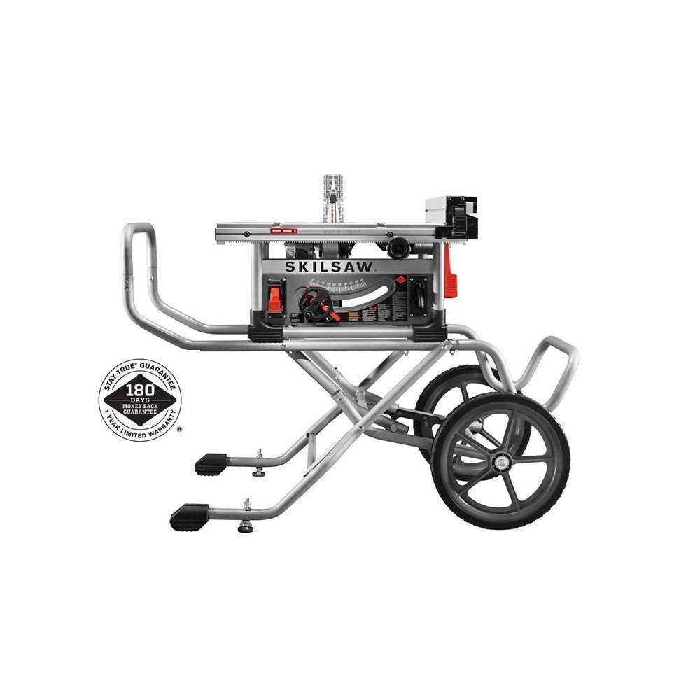 10 Inch Heavy Duty Table Saw With Stand And Diablo Blade Craftsman Power Tools Table Saw Woodworking Supplies