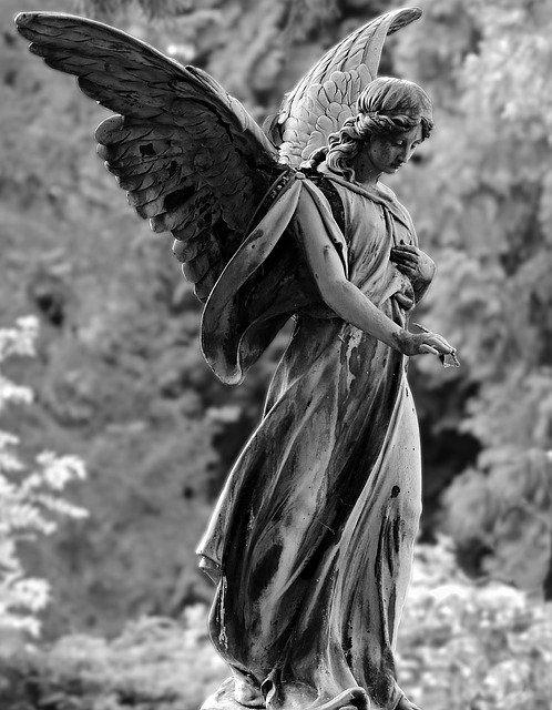 Free Image on Pixabay - Angel, Statue, Figure, Cemetery
