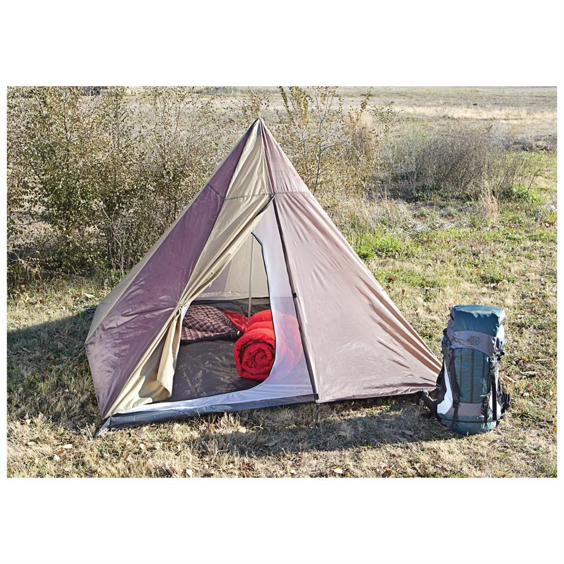 Guide Gear Backpacking Teepee Tent - 582128 Backpacking Tents at Sportsmanu0027s Guide  sc 1 st  Pinterest & Guide Gear Backpacking Teepee Tent - 582128 Backpacking Tents at ...