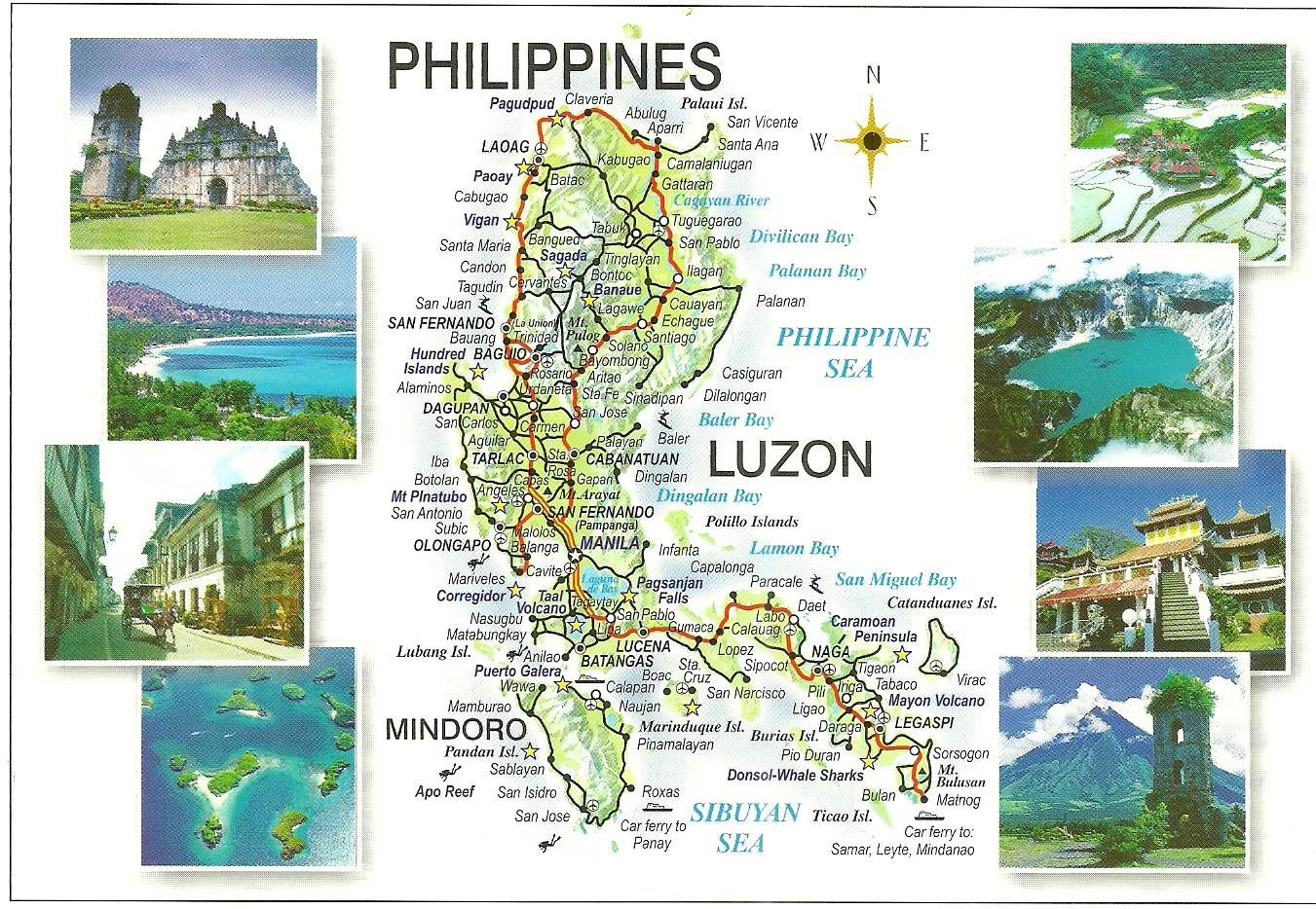 Philippines has 7,100 islands. If you want to visit the