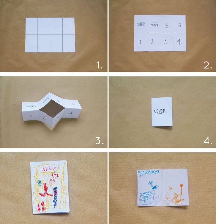 Bloesem Kids Travel Craft Projects Single Sheet Paper Story