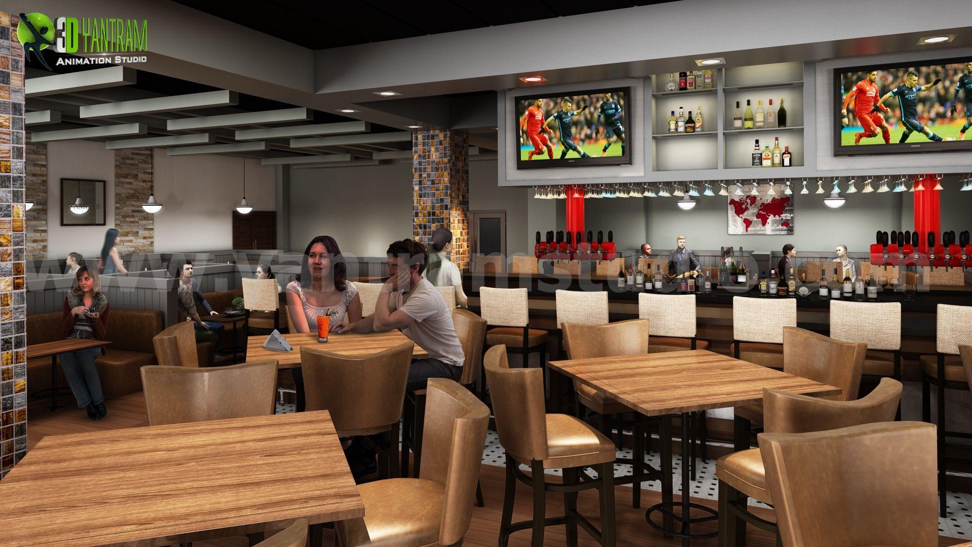 #Stylish #Restaurant #Interior #Design Ideas Around The World By Yantram  Interior Concept