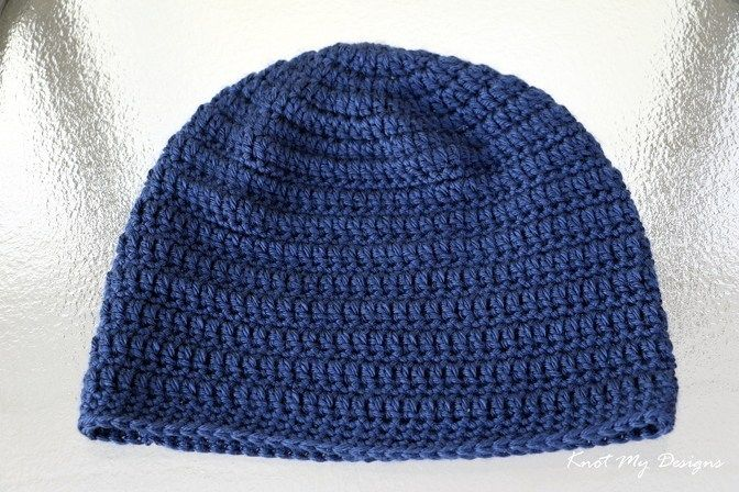 Elemental Adult Male Beanie | KNOT MY DESIGNS #crochetelements