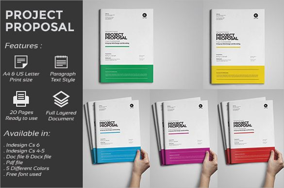 20+ Proposal Templates - Free MS Word Documents Download Free - microsoft word proposal template free download