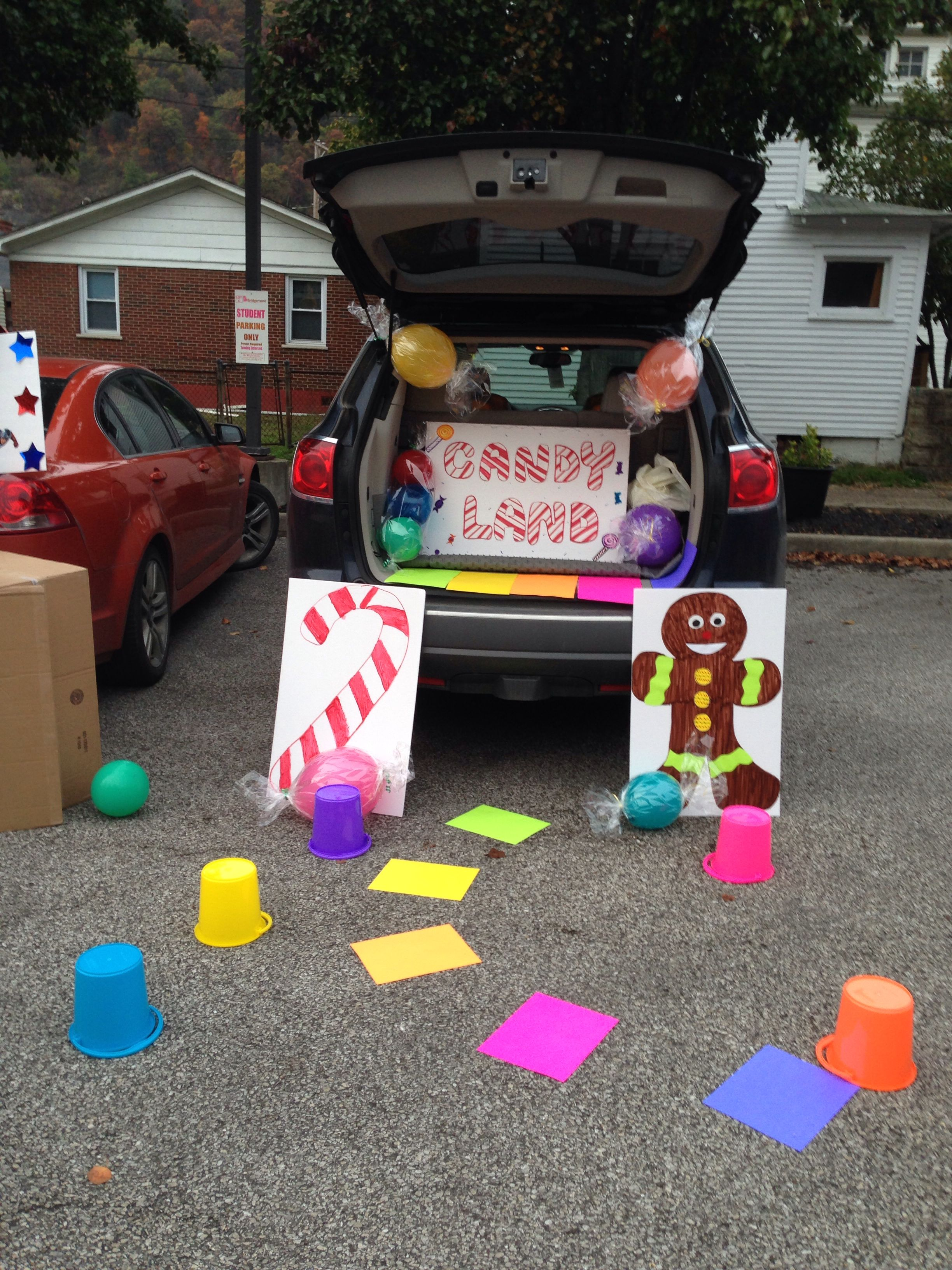 Candyland Or Treat Trunk Ideas