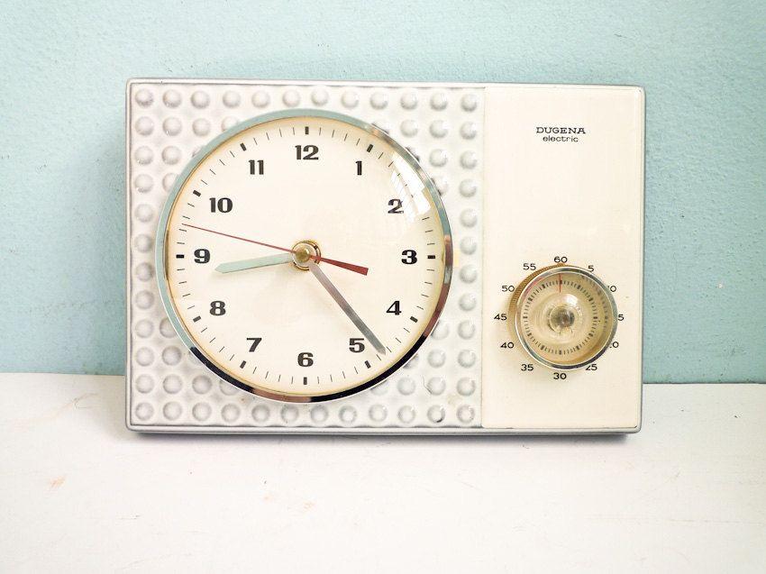 Fantastic Delightful Dugena Furnishings Kitchen Wall Clocks 60S Home Interior And Landscaping Synyenasavecom